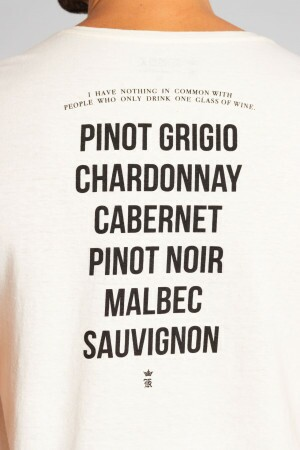 Camiseta Wine Types