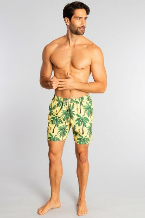 Shorts Água Yellow Coconut