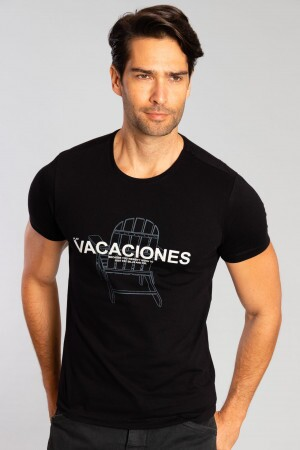 Camiseta Vacaciones Chair