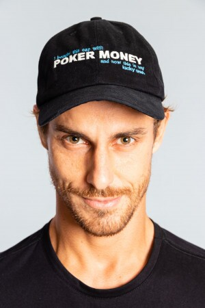 Boné Poker Money